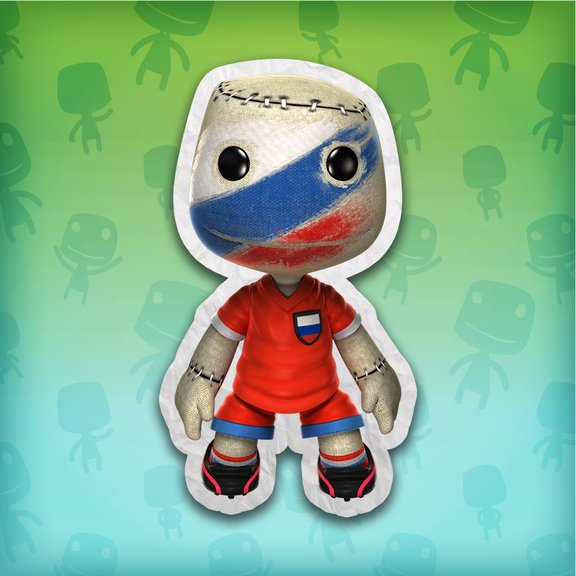 LittleBigPlanet™ Russia Football Fan Costume