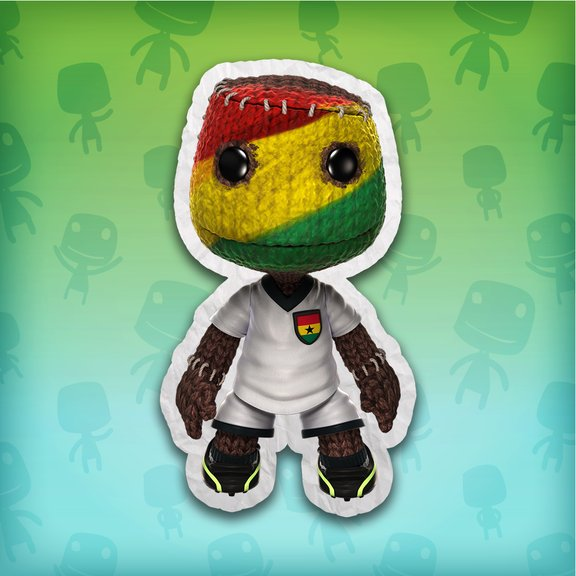 LittleBigPlanet™ Ghana Football Fan Costume