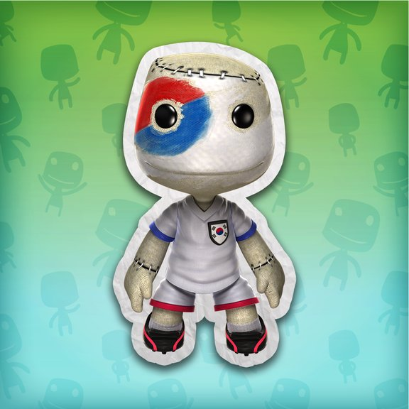 LittleBigPlanet™ Korea Republic Football Fan Costume