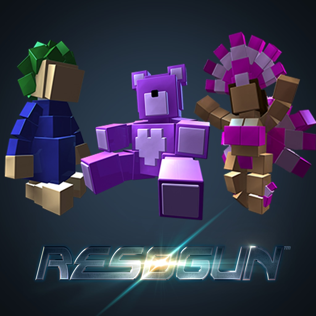 RESOGUN™ - Pack Humain 4
