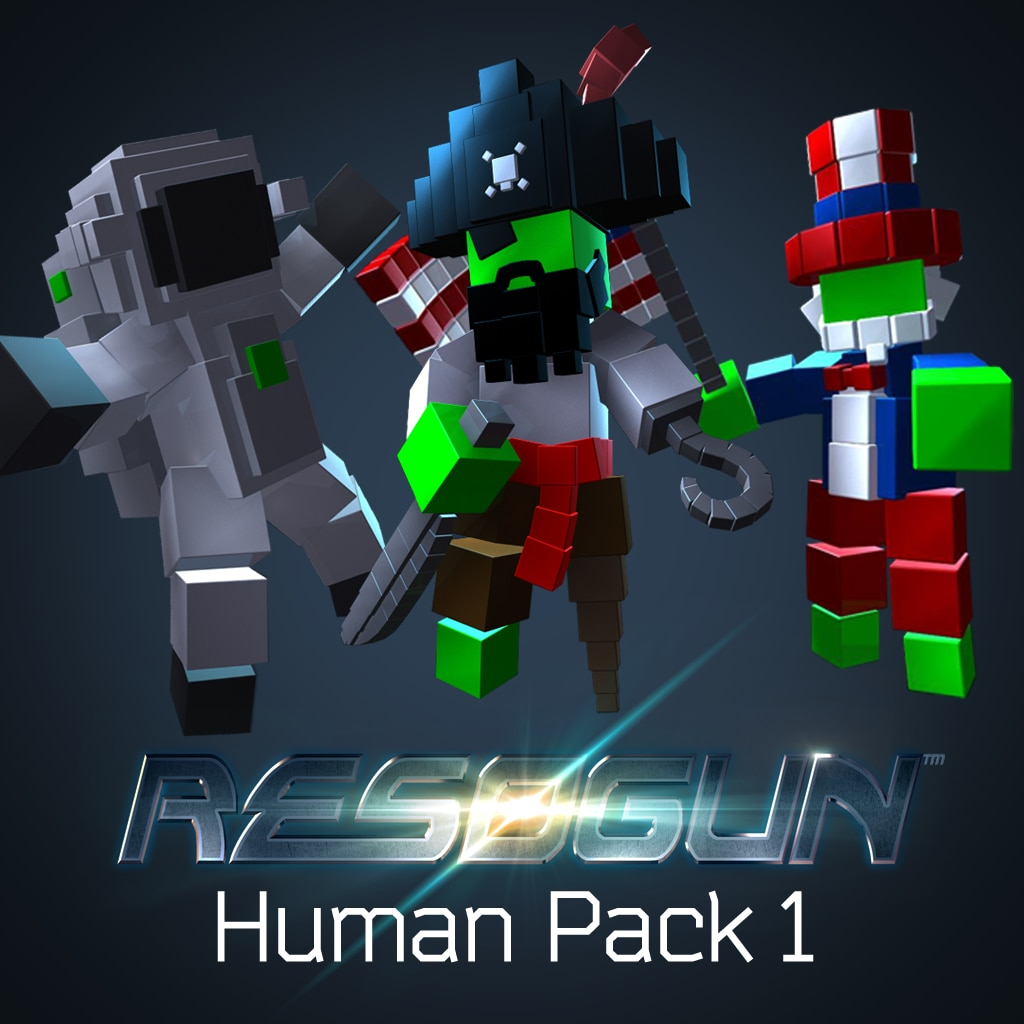 RESOGUN™ - Mens-pack 1