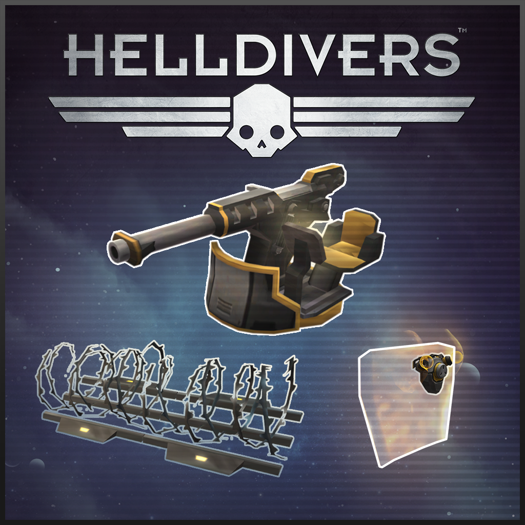 HELLDIVERS™ Entrenched Pack