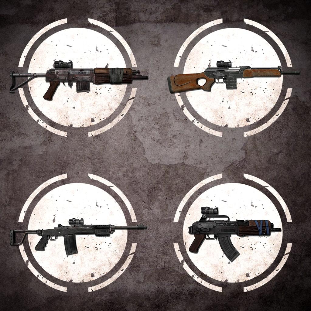 Pack d'armes à lunette de tir