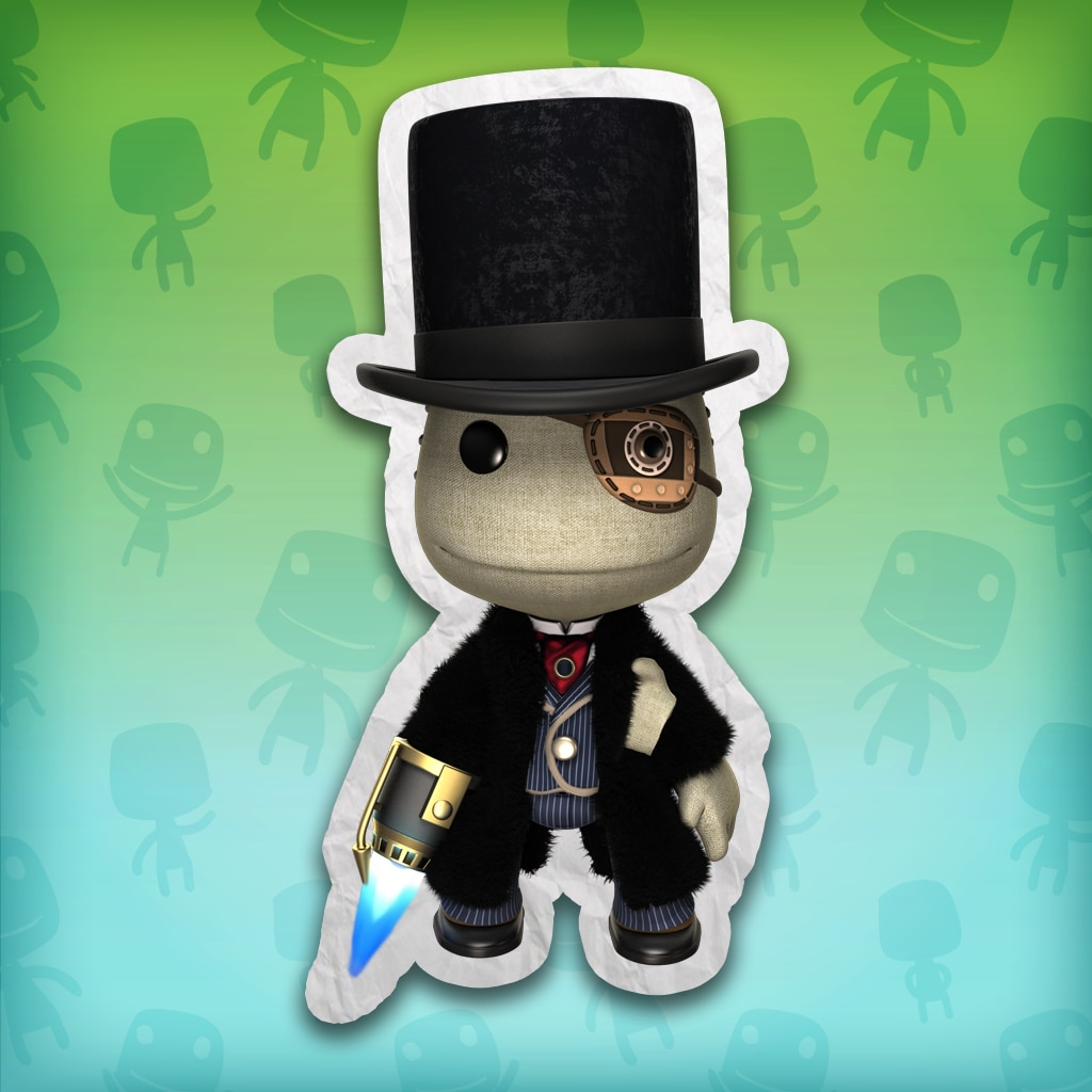 LBP™3 Doctor Who – Half-Face Man Costume