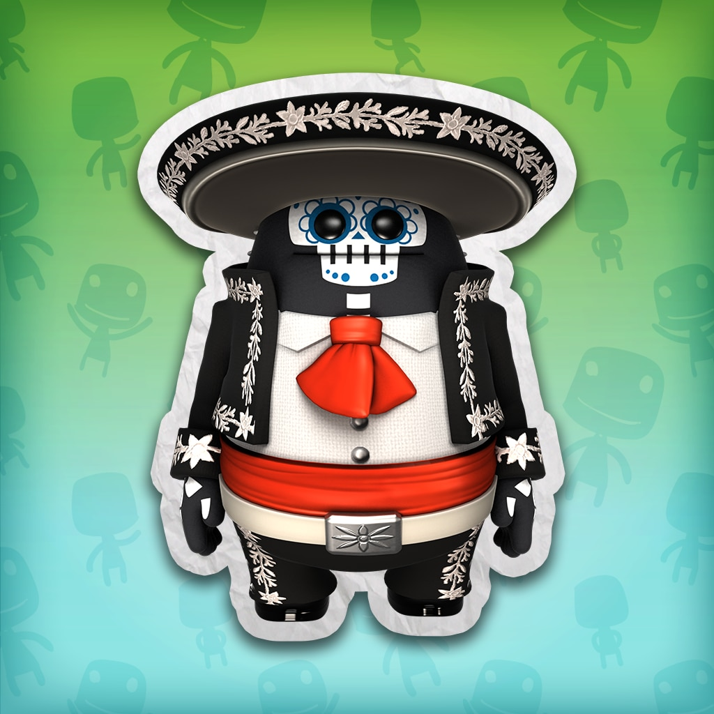 LittleBigPlanet™ 3 Dia de Muertos Big Toggle Costume