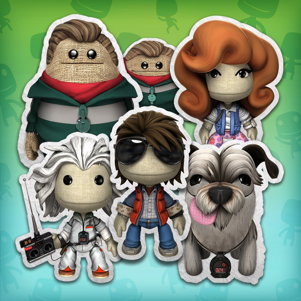 LBP™ 3 Back to the Future Costume Pack 1