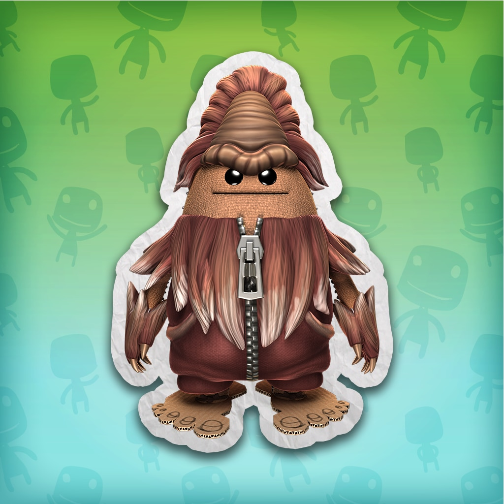 Big Toggle's Bigfoot Costume