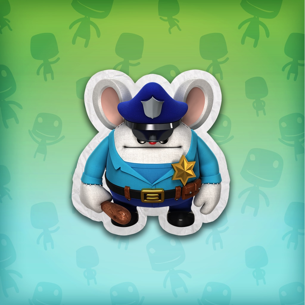 Namco Classics Police Mouse Mappy Costume – LBP™ 3