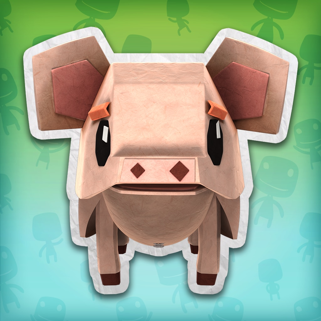 Tearaway™ Unfolded Pig Costume – LBP™ 3