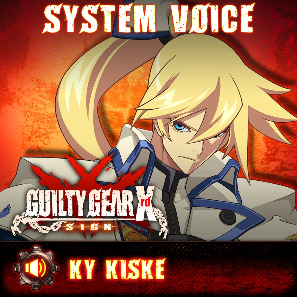 Guilty Gear Xrd -Sign- Ky Kiske Voice Pack