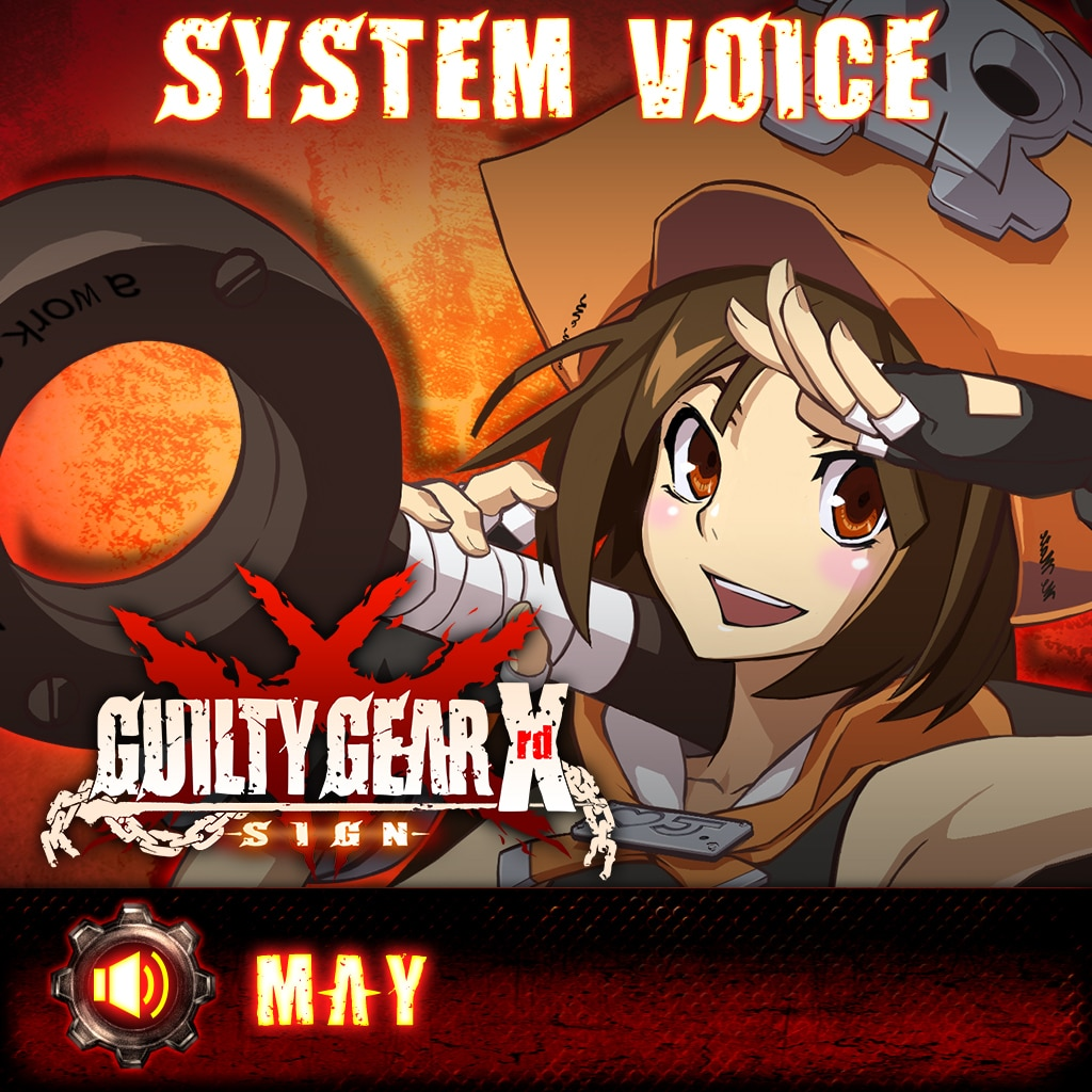 Guilty Gear Xrd -Sign- May Voice Pack