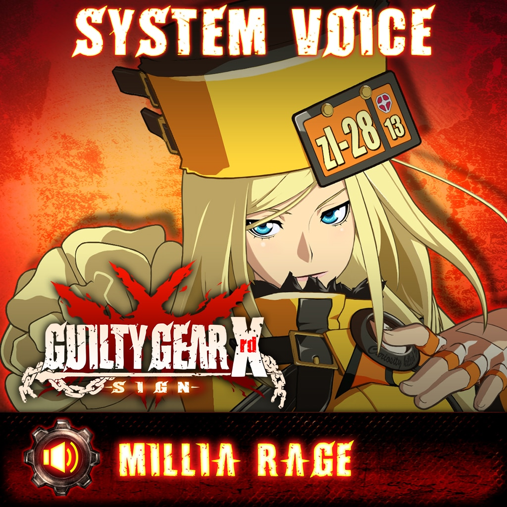Guilty Gear Xrd -Sign- Millia Rage Voice Pack