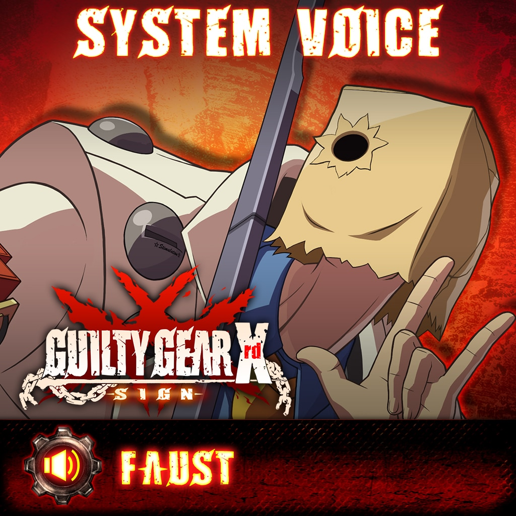 Guilty Gear Xrd -Sign- Faust Voice Pack