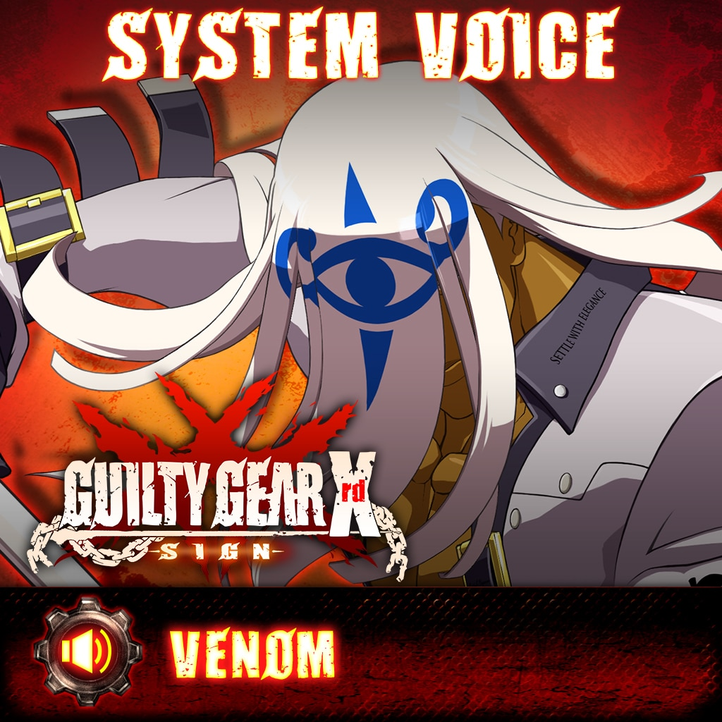 Guilty Gear Xrd -Sign- Venom Voice Pack