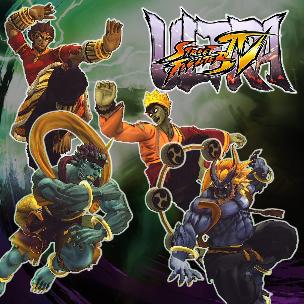 Ultra Street Fighter™ IV Arcade Challengers Horror Pack