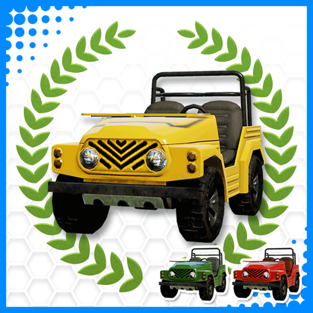 Everybody's Golf Off-road golfbuggy