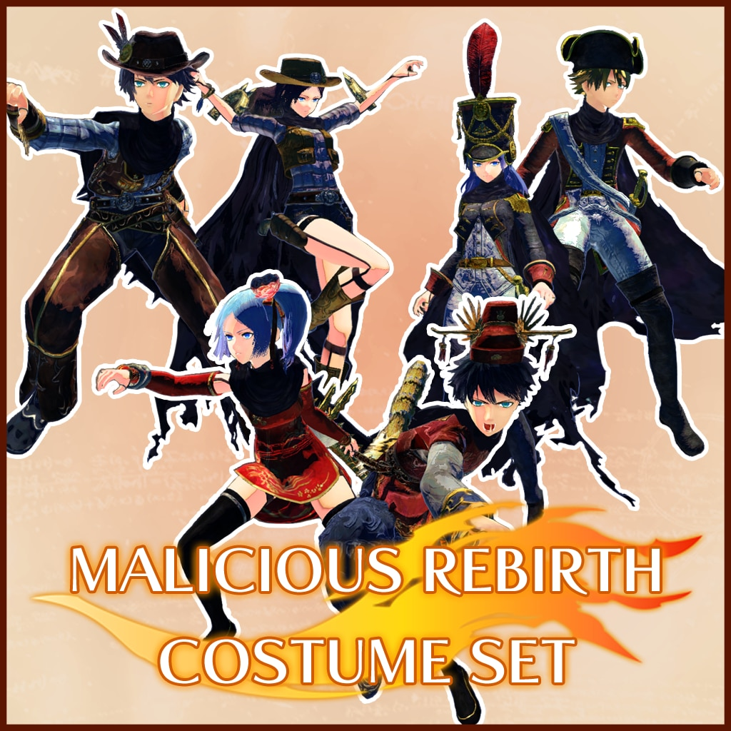 Malicious™ Rebirth Costume Set