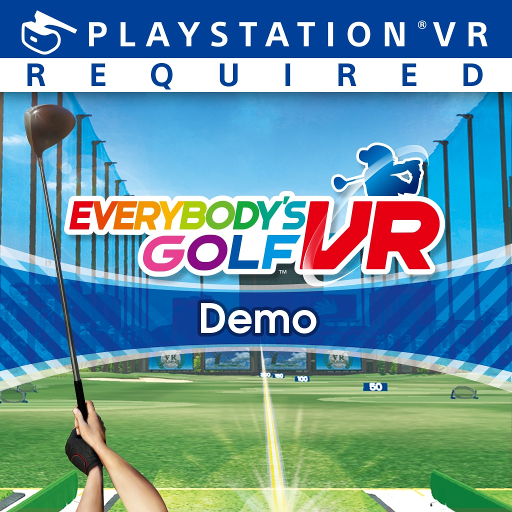 Everybody's Golf™ VR-demo