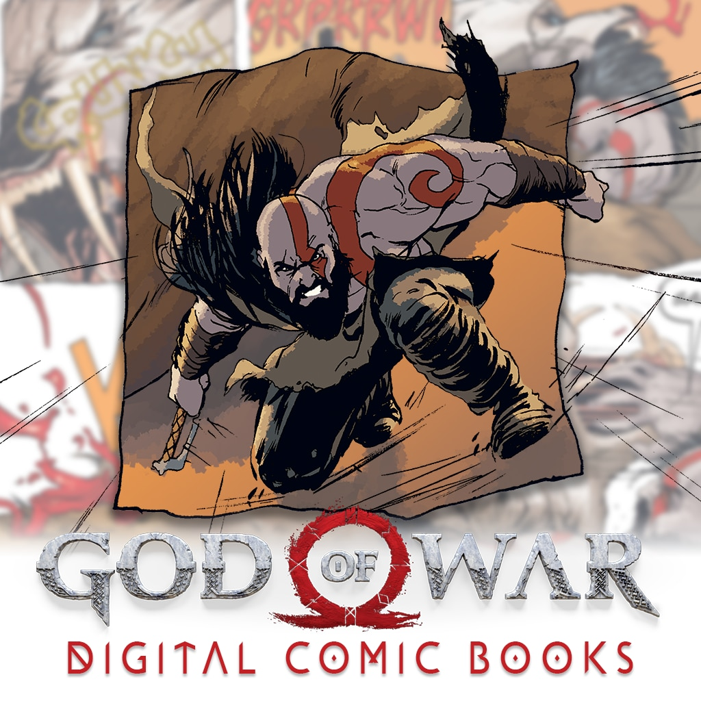 God of War Comic Book 1