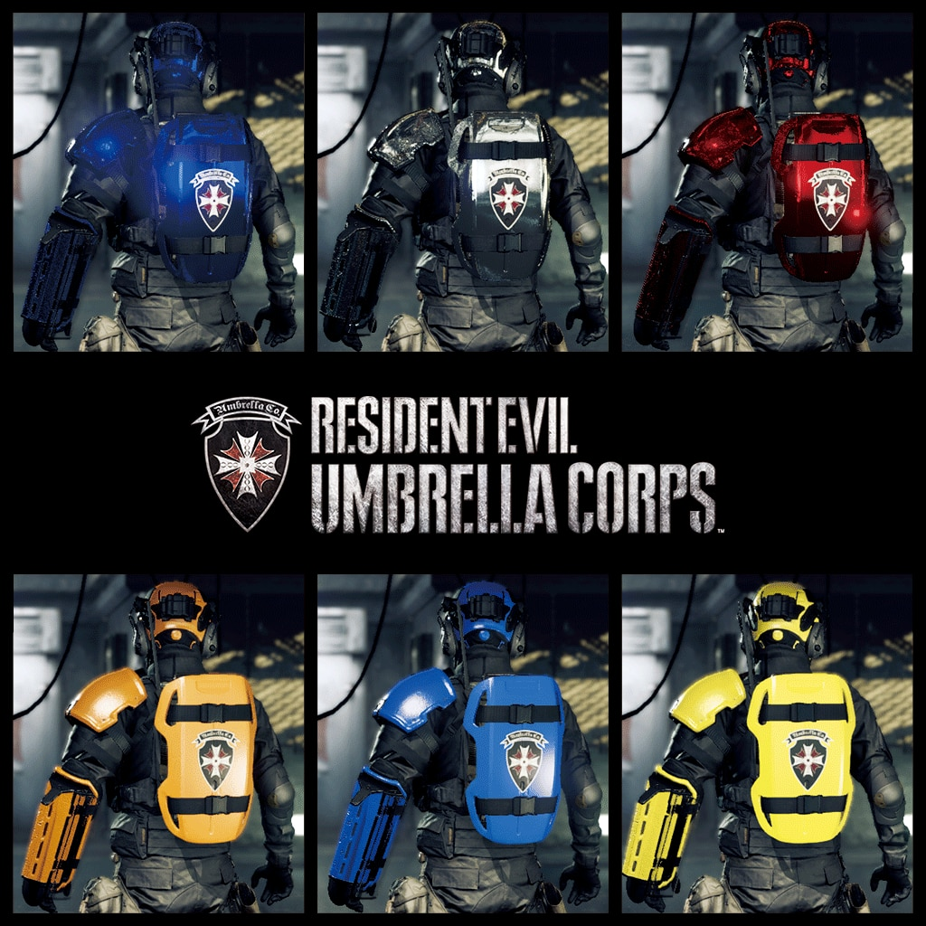 Resident Evil Umbrella Corps: Fashion Victim Pack (English/Chinese/Korean/Japanese Ver.)