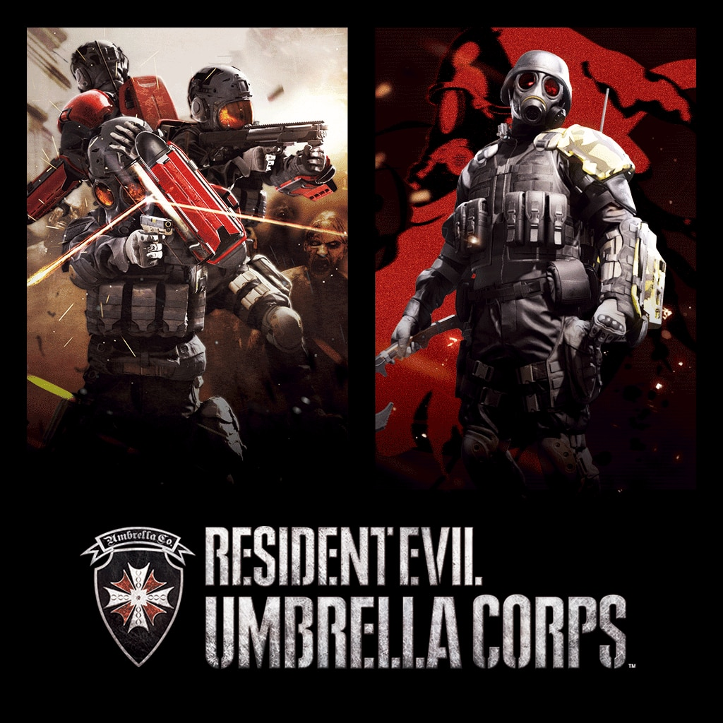 Resident Evil Umbrella Corps Deluxe Edition (English/Chinese/Korean/Japanese Ver.)