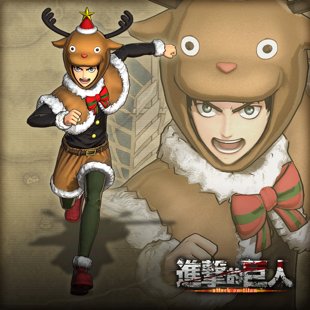 "Additional Costume Eren ""Christmas"" (Chinese Ver.)"