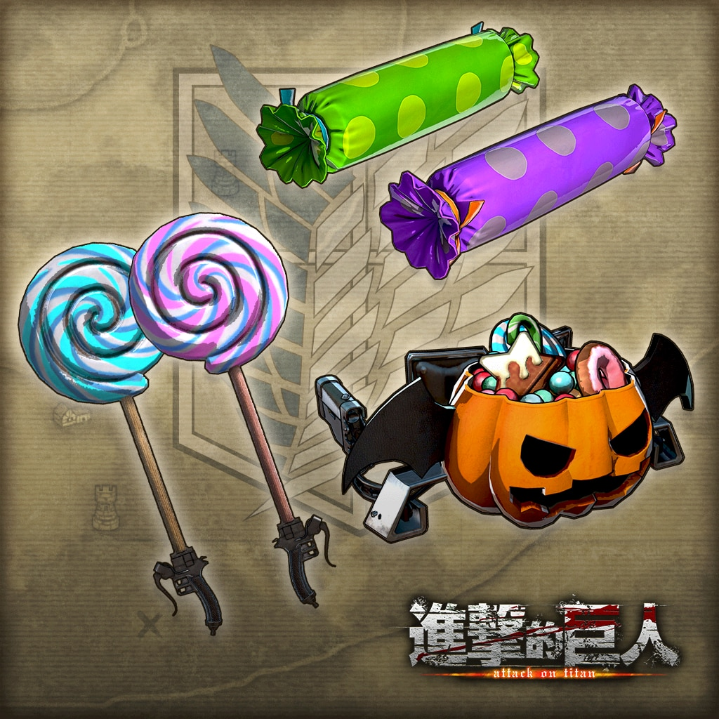 """Additional Weapon Set """"Halloween"""" (Chinese Ver.)"""