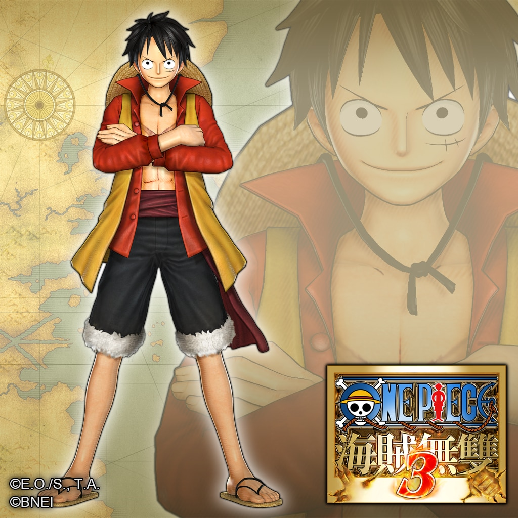 Additional Costume: LUFFY (FILM Z Version) (without coat) (中文版)