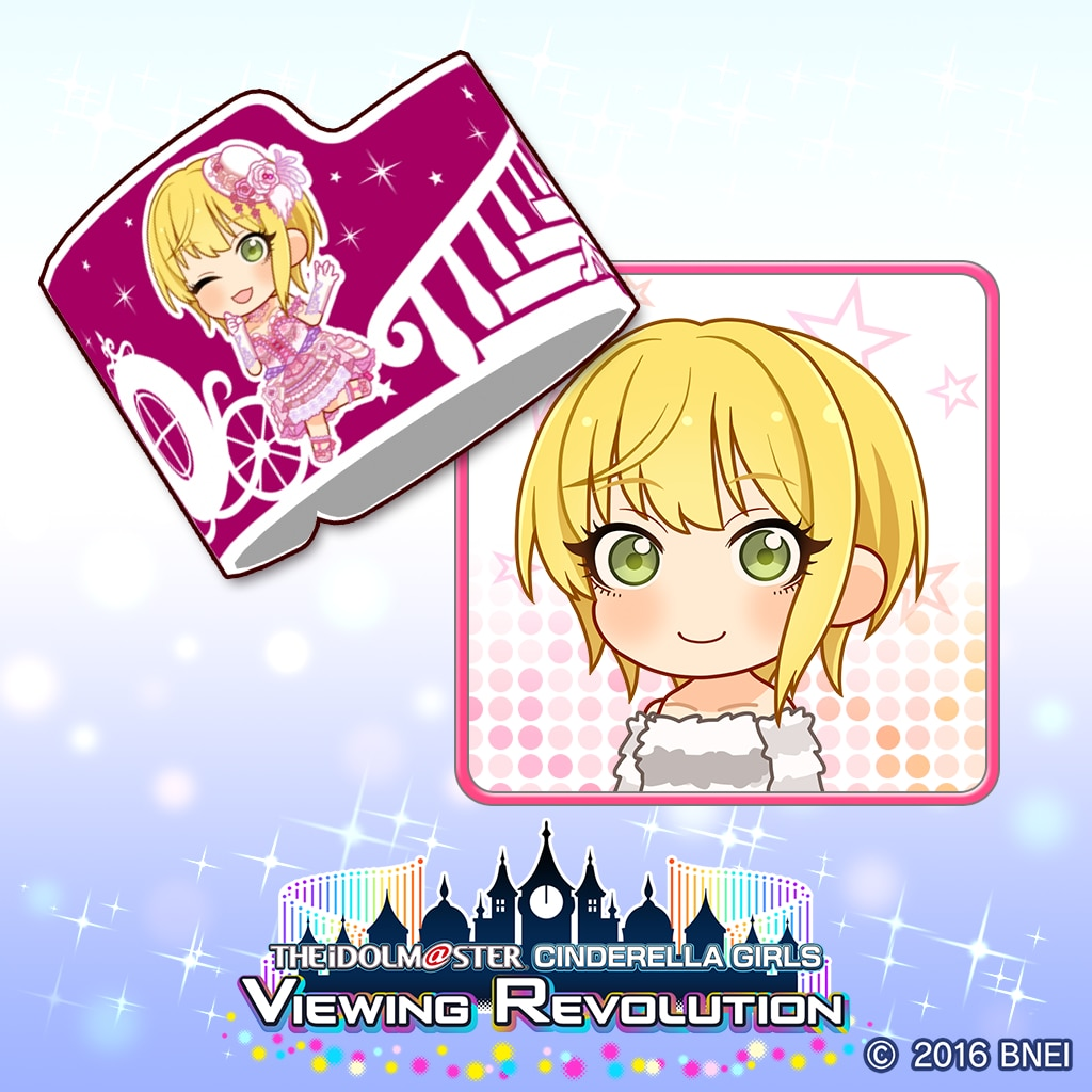 Producer's wristband Frederica Miyamoto VR Ver. (English/Chinese/Korean Ver.)