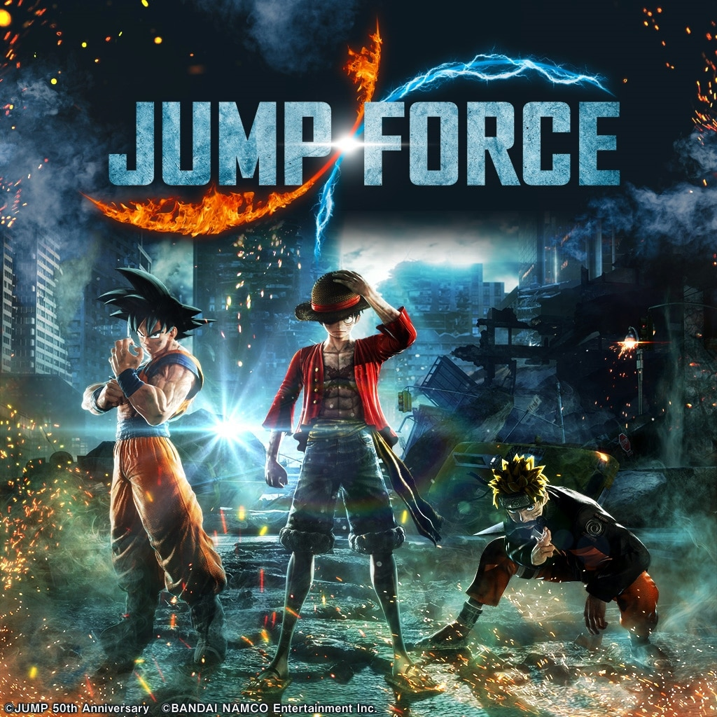 JUMP FORCE (Simplified Chinese, Korean, Thai, Traditional Chinese)