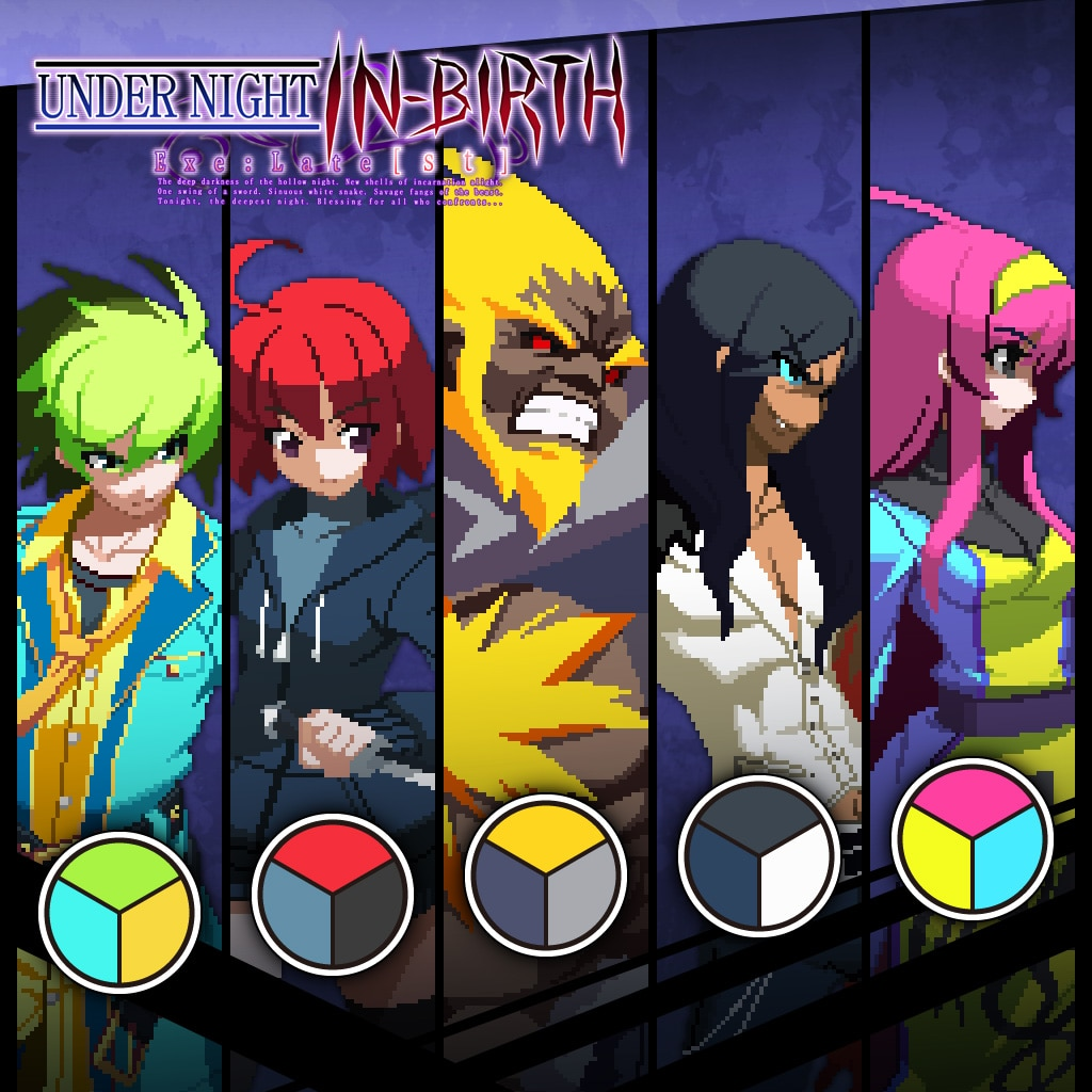 Additional Character Color 1 (English/Chinese/Japanese Ver.)