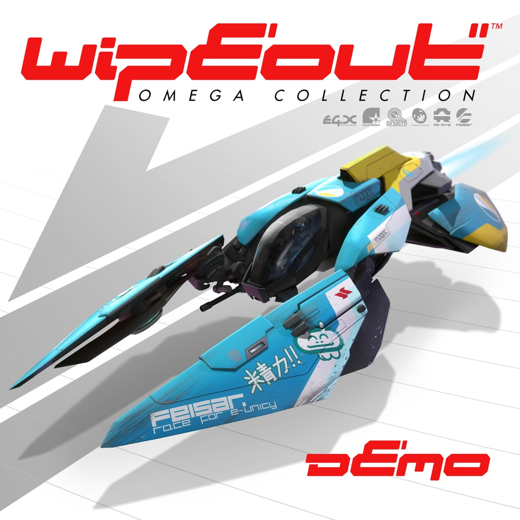 WipEout™ Omega Collection Demo (English/Chinese/Korean Ver.)