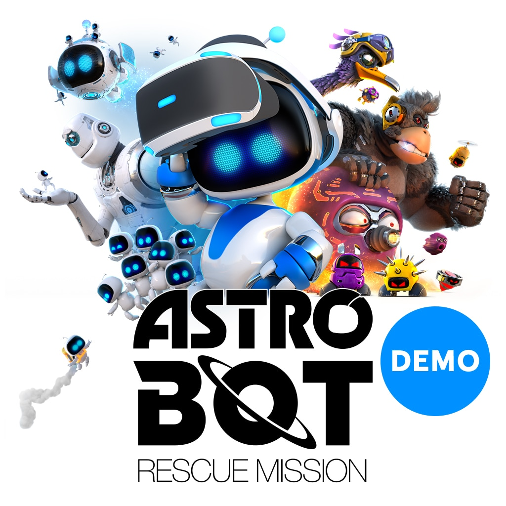 ASTROBOT: RESCUE MISSION DEMO (English/Chinese/Korean/Japanese Ver.)