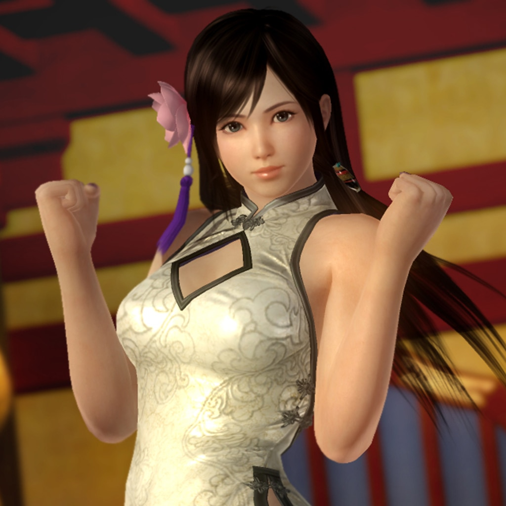 DOA5LR Alluring Mandarin Dress - Kokoro (English/Chinese/Korean/Japanese Ver.)