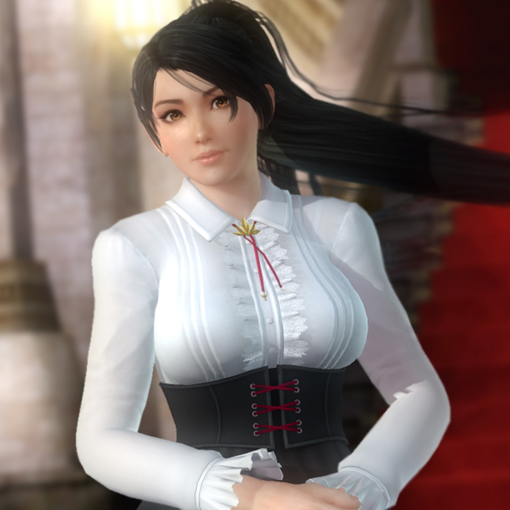 DOA5LR High Society Costume - Momiji (English/Chinese/Korean/Japanese Ver.)