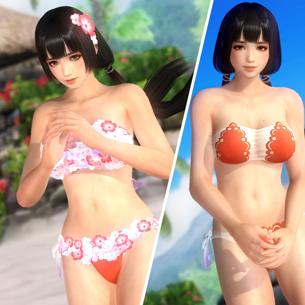 DOA5LR Flower Costume - Naotora Ii (English/Chinese/Korean/Japanese Ver.)