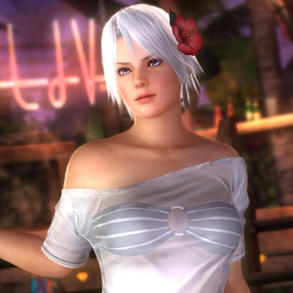 DOA5LR Hot Summer Christie Costume (English/Chinese/Korean/Japanese Ver.)