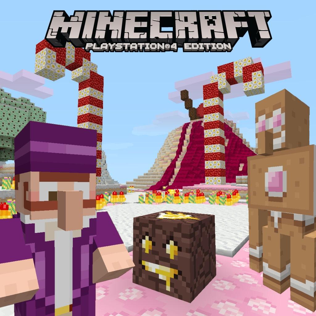 Minecraft キャンディーテクスチャーパック