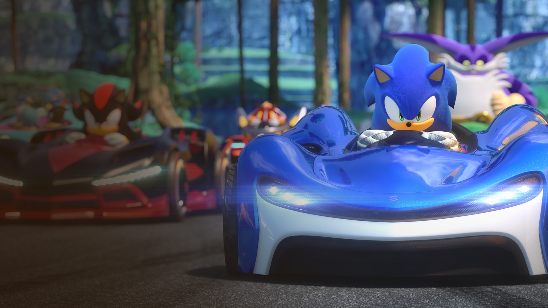 TEAM SONIC RACING (English/Chinese/Korean/Japanese Ver.)