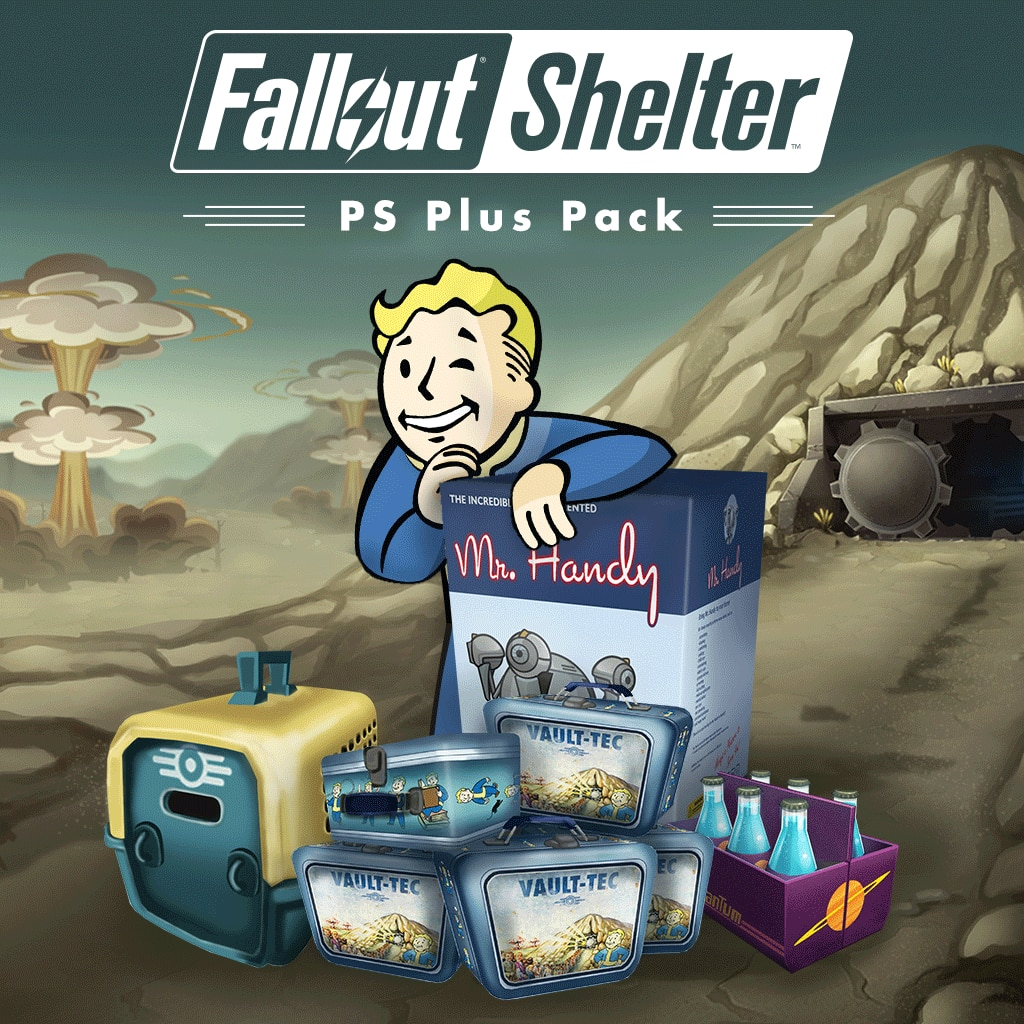 Fallout Shelter PlayStation®Plus Pack (English/Chinese/Japanese Ver.)