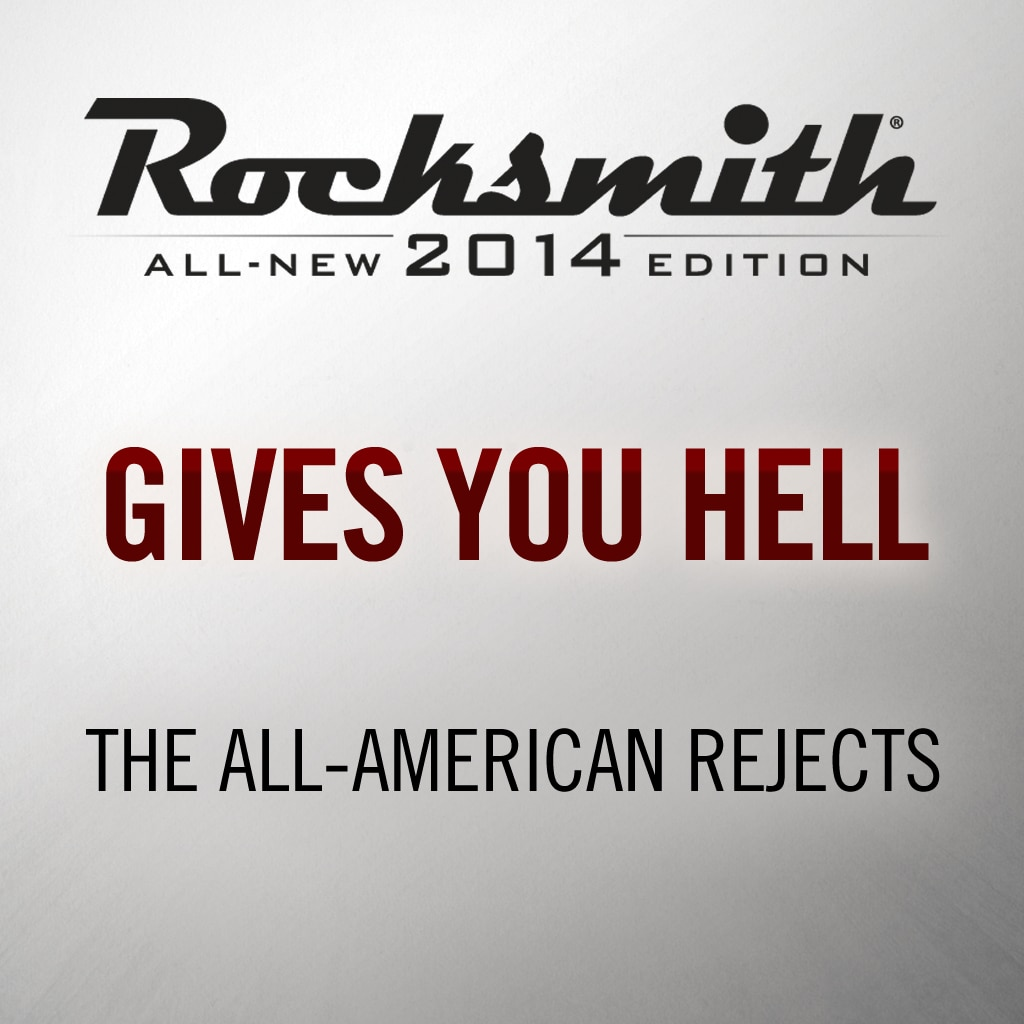 Rocksmith® 2014 - The All-American Rejects - Gives You Hell