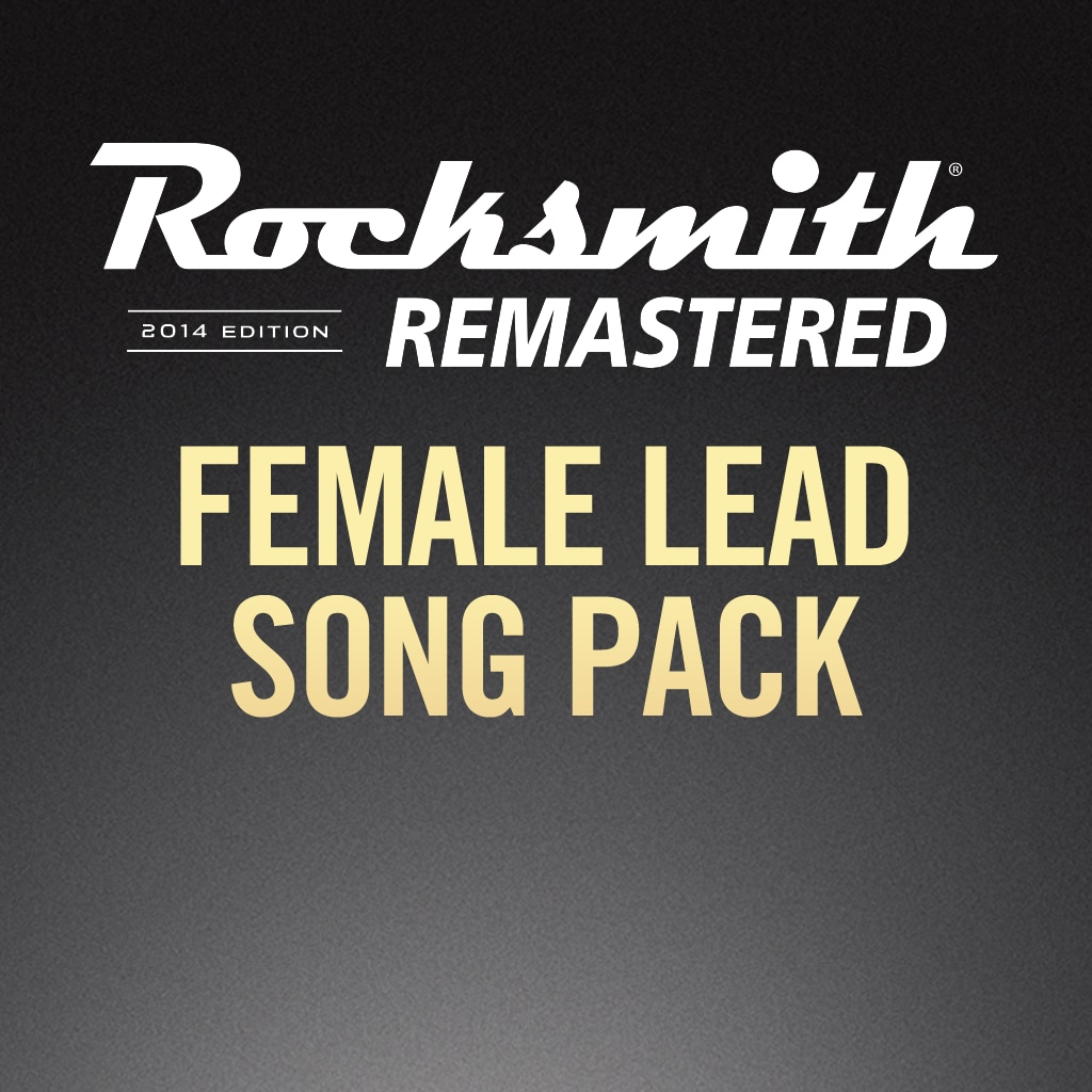 Rocksmith® 2014 - Canciones Female Lead Song Pack