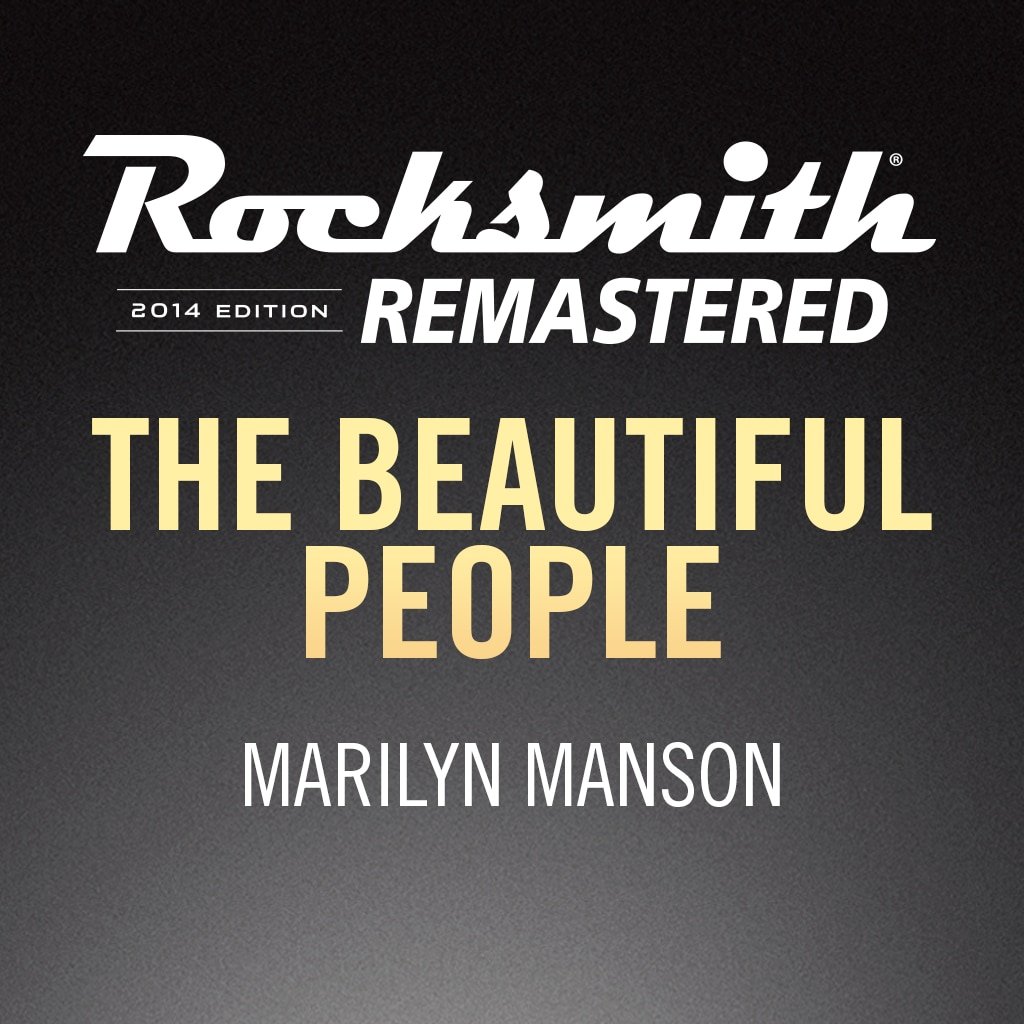 Rocksmith® 2014 - Marilyn Manson - The Beautiful People