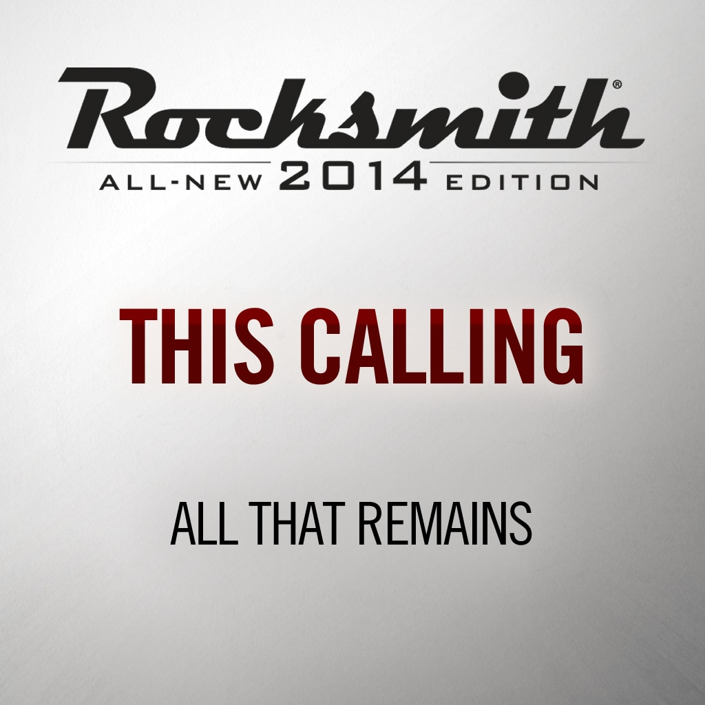 Rocksmith® 2014 - All That Remains - This Calling