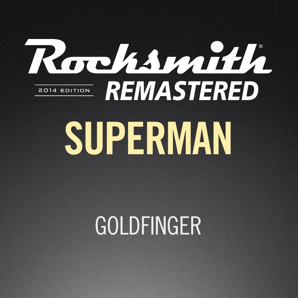 Rocksmith® 2014 - Goldfinger - Superman