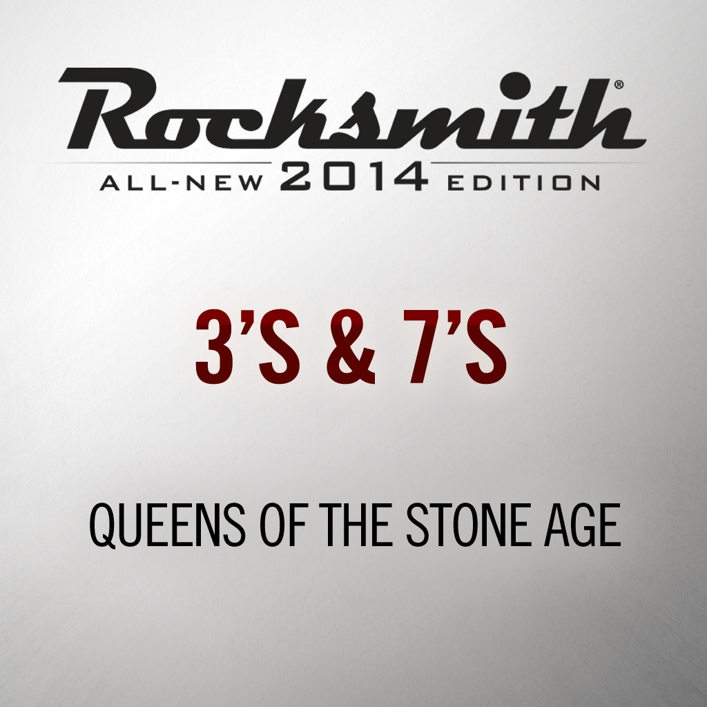 Rocksmith® 2014 - Queens of the Stone Age - 3's & 7's