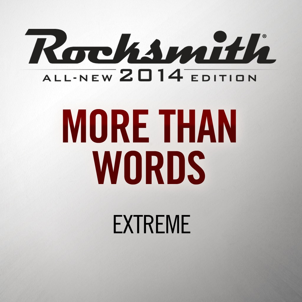 Rocksmith® 2014 - Extreme - More Than Words
