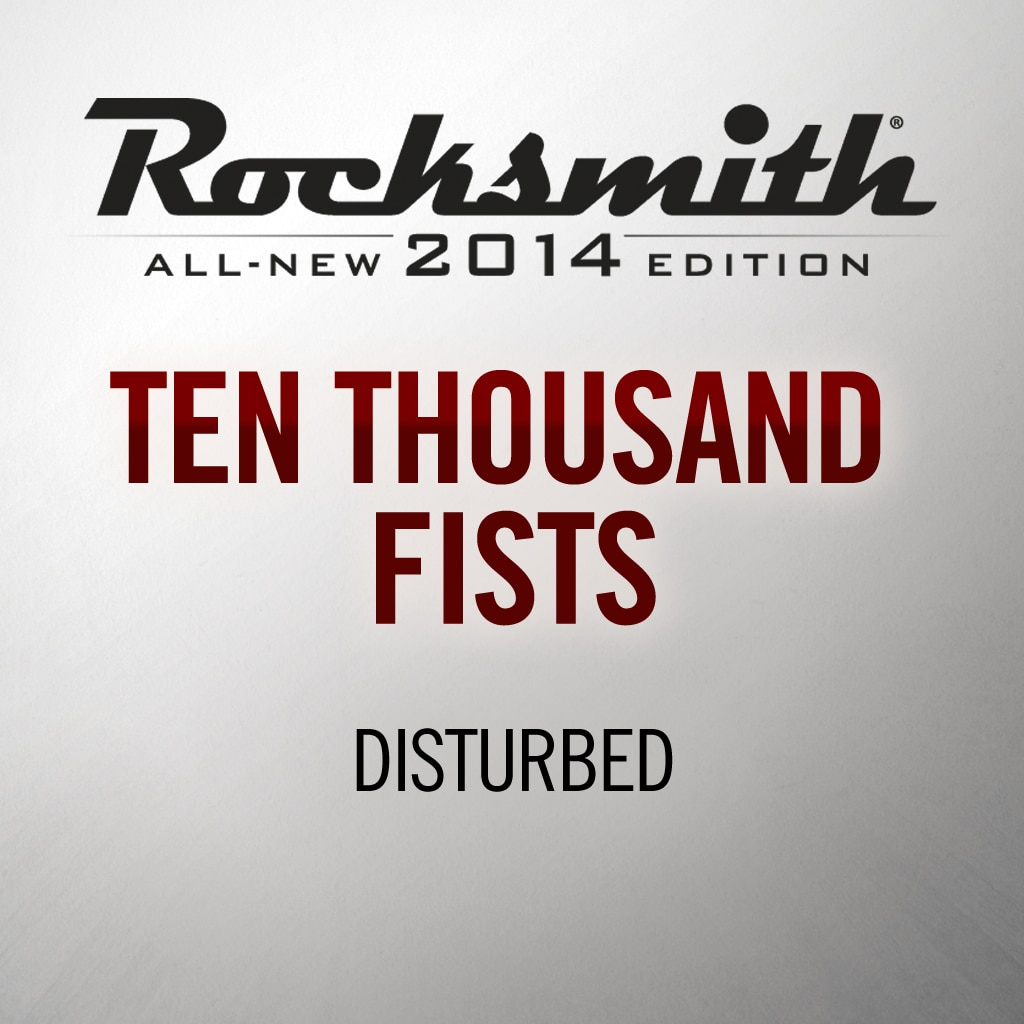 Rocksmith® 2014 - Disturbed - Ten Thousand Fists