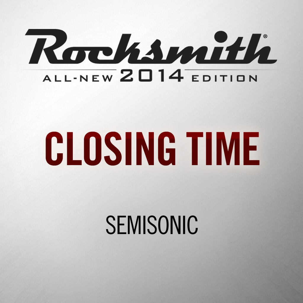 Rocksmith® 2014 - Semisonic - Closing Time