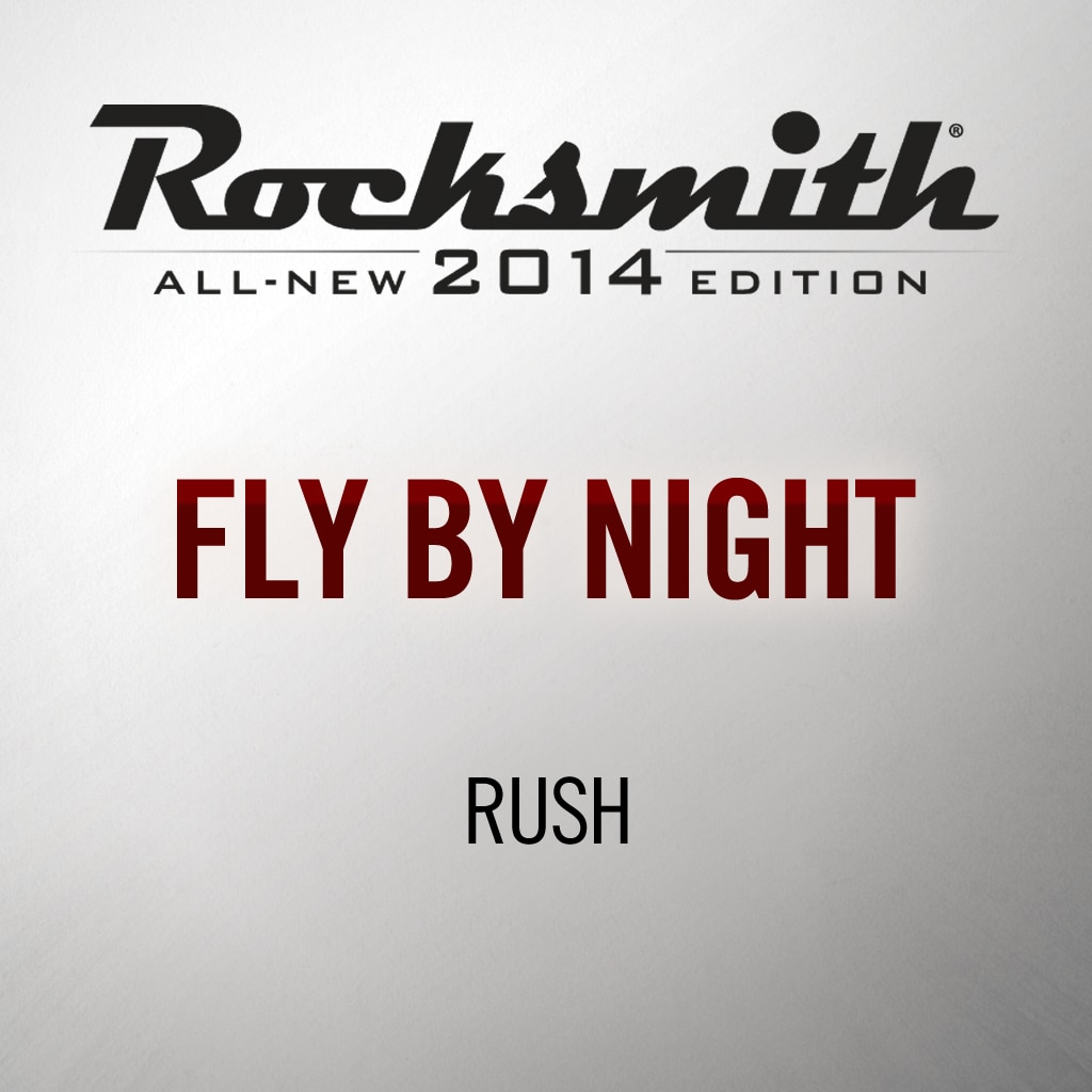Rocksmith® 2014 - Rush - Fly By Night
